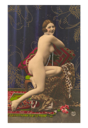 b. dancers and models as muses ? 1920s-Nude-with-Pearls-allposters
